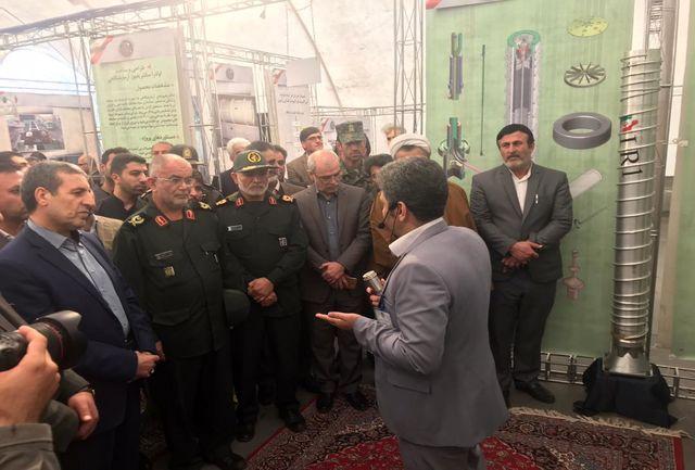 نمایشگاه دستاوردهای هستهای در بوشهر گشایش یافت