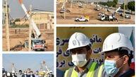 مانور جهادی سراسری تعمیرات شبکه های فرسوده توزیع برق خوزستان برگزار شد