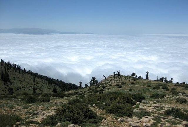 نجات 8 کوهنورد در ارتفاعات درفک