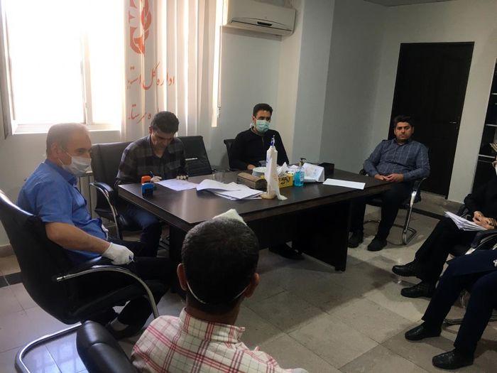 اولین جلسه کمیسیون پزشکی سال ٩٩ در این شهرستان ملارد