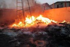 آتش سوزی  انباری در ملارد بدون خسارت جانی