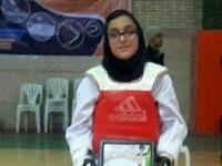فاطمه شمس آبادی جواز حضور در مسابقات پومسه قهرمانی مدارس جهان را کسب کرد