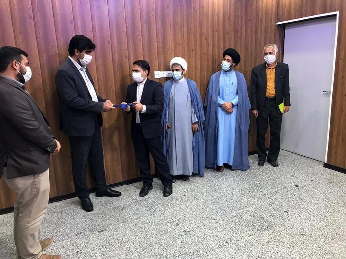 مسئول جدید اوقاف شهرستان خمیر معرفی شد