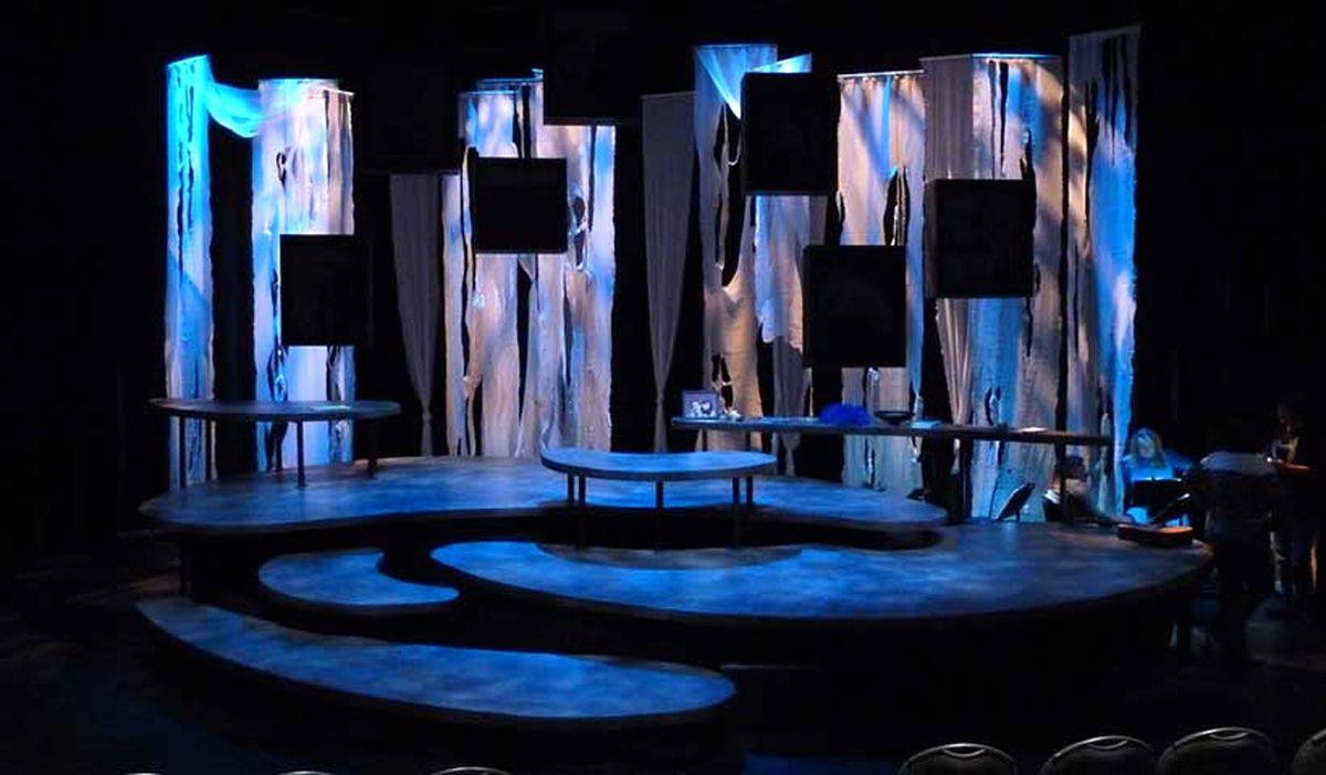 برگزاری دفتر پژوهش، آموزش و انتشارات هنرهای نمایشی کارگاه تخصصی طراحی صحنه
