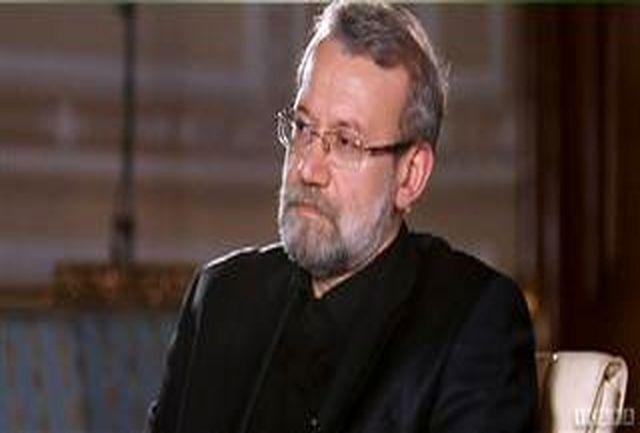 لاریجانی درگذشت پدر رسول خضری را تسلیت گفت