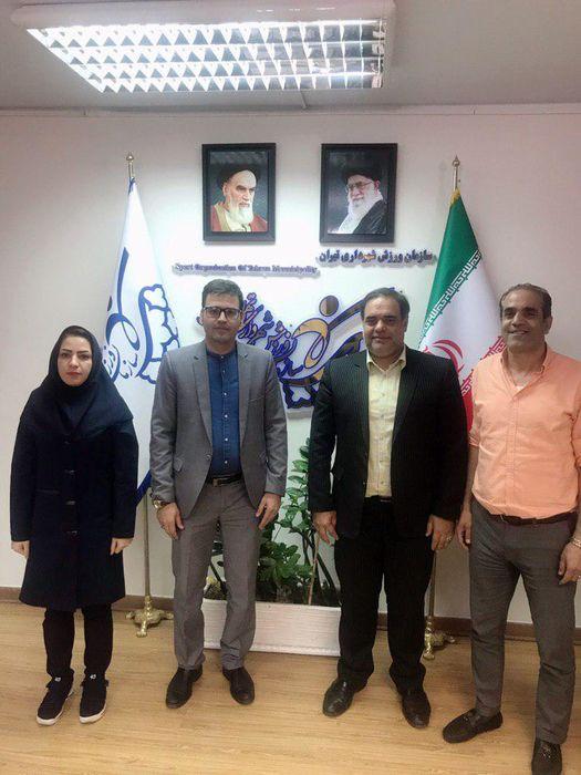 بررسی ارتقاء ورزش هاکی پایتخت در جلسه مشترک این هیات با سازمان ورزش شهرداری تهران