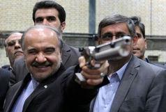 بازدید وزیر ورزش و جوانان از سالن تیراندازی همدان