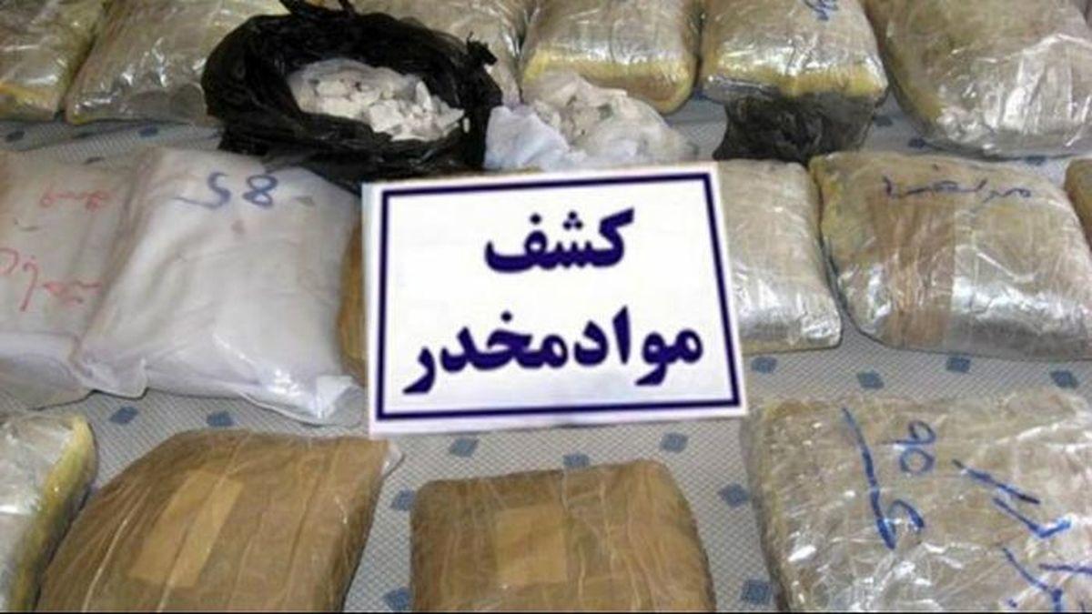 کشف بیش از یک تن مواد افیونی در سیستان و بلوچستان