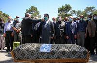 مراسم تشییع و خاکسپاری مرحوم علی مراد خانی انجام شد+عکس