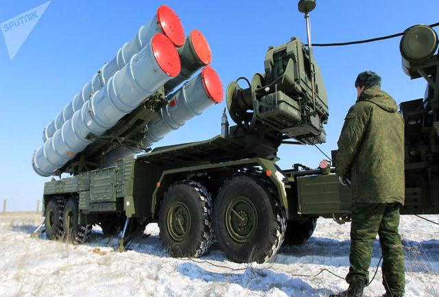 موشک «اس 400» در بغداد