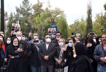 سوگواران خسرو آواز ایران در مشهد