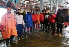 گم شدن یک گروه کوهنوردی در توچال/ تمامی پنج نفر در سلامت هستند