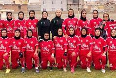 ادامه سریال پیروزی های بانوان فوتبالیست کردستانی در لیگ برتر فوتبال/ وچان نماینده البرز را شکست داد