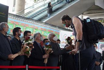 استقبال از ورزشکاران کاروان پارالمپیکی ایران