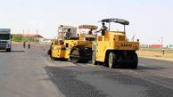 فاز نخست تعریض و آسفالت جاده بینالمللی حیدرآباد-نقده زیربار ترافیک میرود