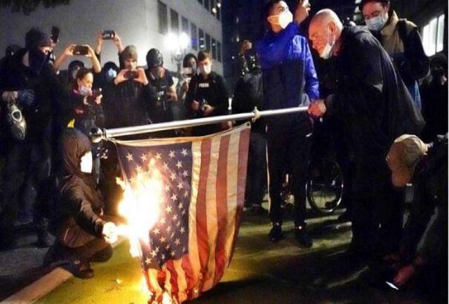انتخابات آمریکا | شورش در پورتلند، سیاتل و میشیگان