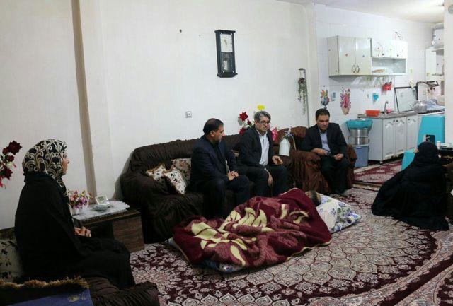 اعضای شورای اسلامی شهر با دو جانباز دفاع مقدس دیدار کردند