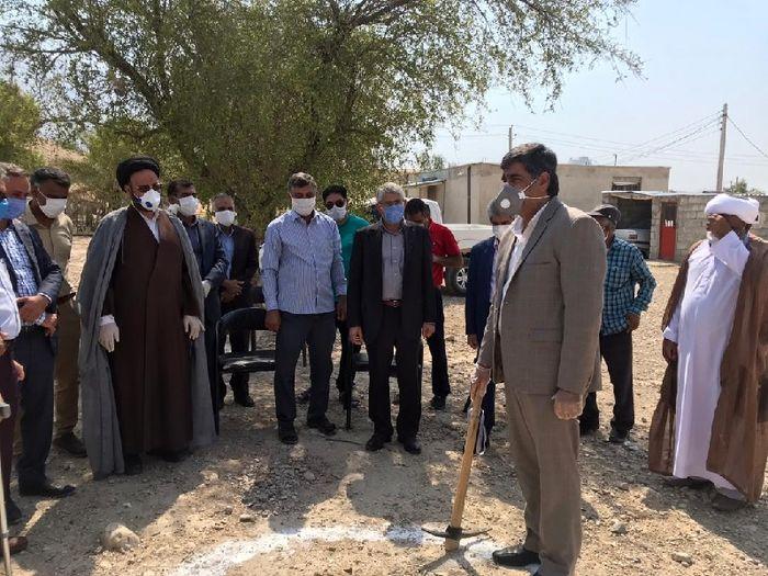 احداث یک فضای آموزشی ایمن در روستای مرزی هرمزگان