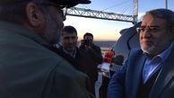 بازدید وزیر کشور از پروژه آزادراه شهید همت