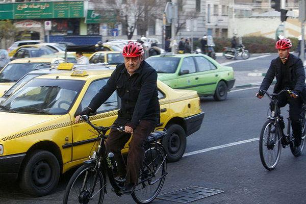 افزایش تقاضا برای دوچرخه سواری در تهران