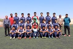 حضور شهرداری بندرعباس در رقابتهای فوتبال امیدهای کشور