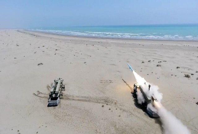 برای اولین بار، نقطه شلیک مقتدرانه موشکی، تنها با یک شلیک و یک هدف  انجام شد
