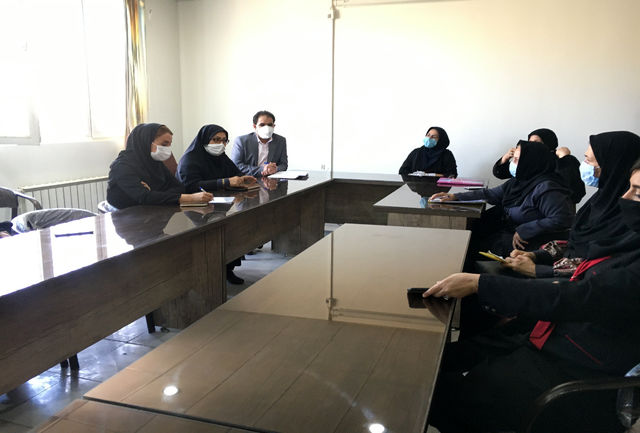 برگزاری جلسه مشترک آموزش و پرورش و اداره بهزیستی شهرستان ملارد