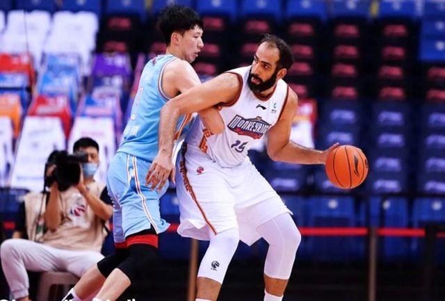 حدادی دومین بازیکن برتر لیگ بسکتبال چین شد