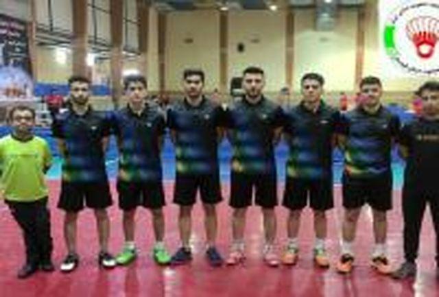 حضور نماینده کردستان در رقابت های لیگ دسته یک بدمینتون کشور