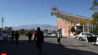 بانوی ایرانی بر فراز آسمان+ عکس