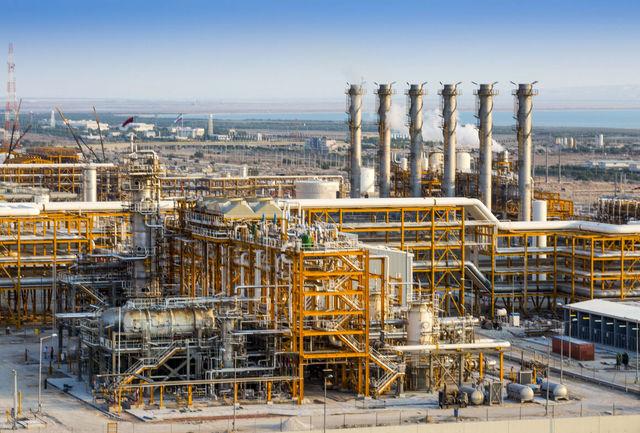 رکورد فرآورش گاز در کشور شکسته شد