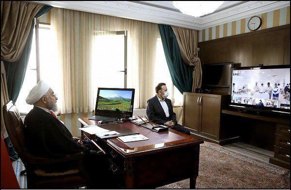 گفت و گوی دو ساعته روحانی با سه استاندار و روسای چند بیمارستان