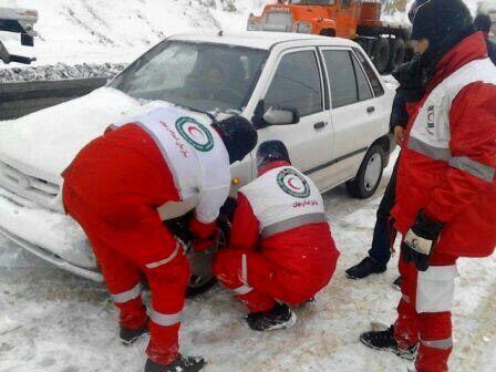 امداد رسانی ۲۰۱ نفر  توسط هلال احمر قزوین در ۲۴ساعت گذشته