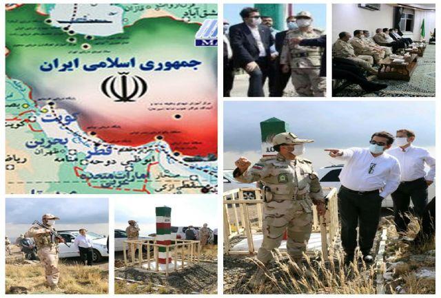 ادای احترام سفیر ایران در آذربایجان به مرزبانان