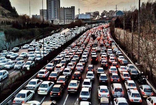ترافیک صبحگاهی در بزرگراههای پایتخت