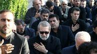 علی لاریجانی در مراسم تشییع سردار شهید سلیمانی حضور یافت