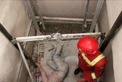 مرگ ۳ کارگر بر اثر سقوط بالابر در کارگاه مترو