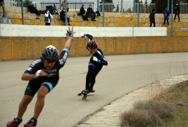 پایان مسابقات دستجات آزاد کشوری اسکیت سرعت نوجوانان پسر
