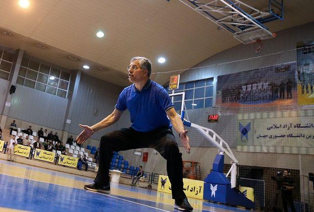 شاهین طبع سرمربی تیم ملی بسکتبال شد