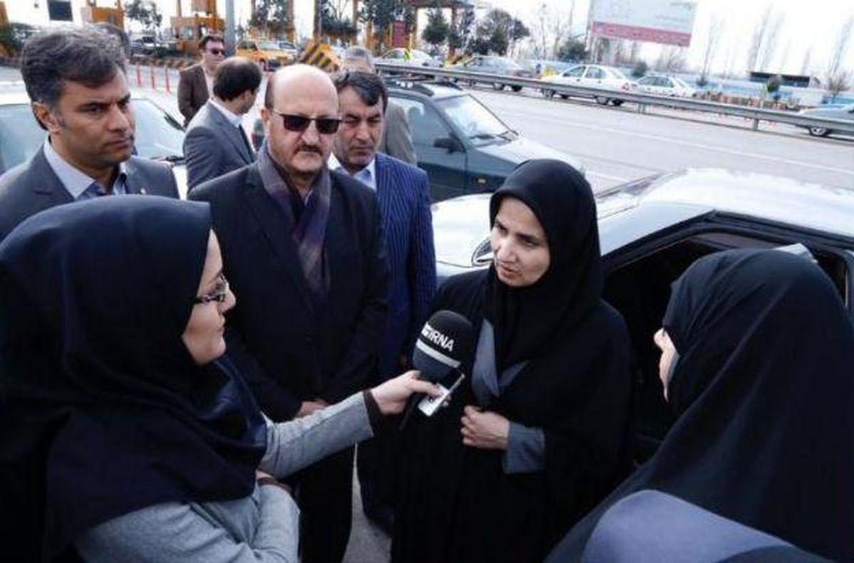معاون امور حقوقی رئیس جمهور وارد استان قزوین شد