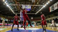 دیدار تیم های بسکتبال ایران - قطر ، انتخابی کاپ آسیا