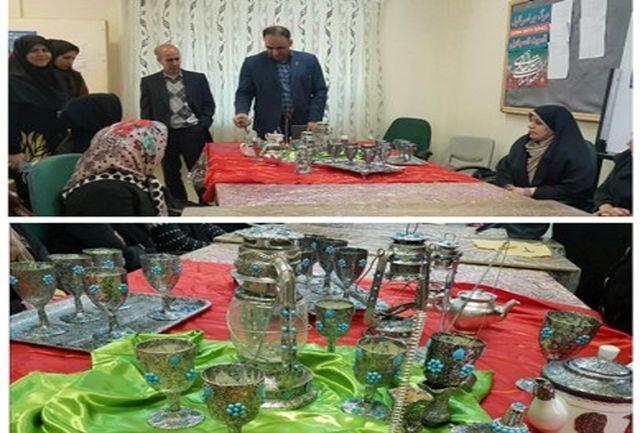 افتتاح کارگاه آموزش فنی  وحرفه ایی صنایع دستی بانوان در خرم آباد