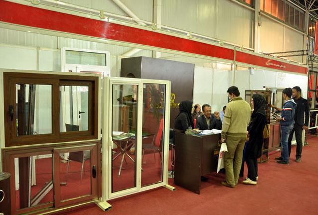 گشایش سومین نمایشگاه تخصصی در و پنجره در گیلان