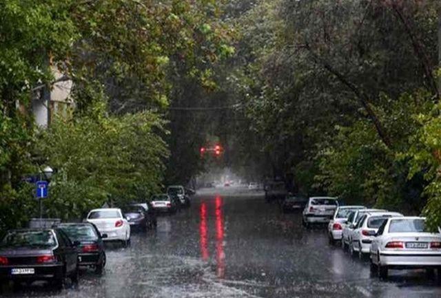 پیش بینی رگبار باران و وزش باد شدید در تهران