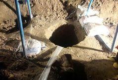 تخریب 34 حلقه چاه غیر مجاز کشاورزی در شهرستان پاسارگاد