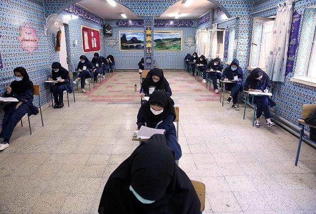 وزیر آموزش و پرورش به صورت سرزده از چند حوزه امتحانی آموزش و پرورش شهر تهران بازدید کرد