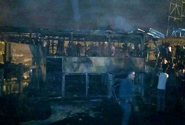 لیست اسامی کشته شدگان حادثه انفجار اتوبوس در سنندج