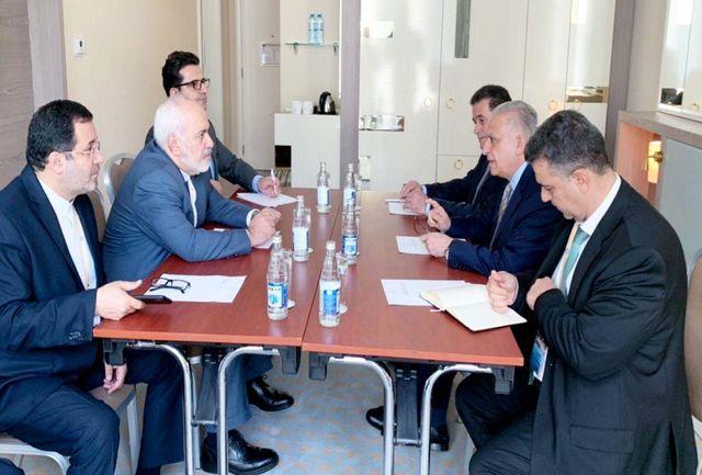 وزیران خارجه ایران و عراق دیدار کردند
