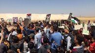 اعتراض سوری ها به حضور نظامی آمریکا و ترکیه