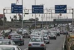 انسداد مقطعی آزادراه کرج - قزوین در بامداد پنجشنبه
